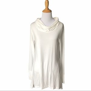 Cuddle Duds Long Sleeve Cowl Neck Tunic